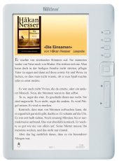 eBook Reader 3.0 für 59,99 € (statt 119 €) versandkostenfrei bei Hugendubel.de in schwarz oder weiß
