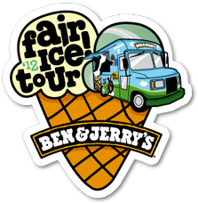 Gratis Ben & Jerry`s Eis bei der FAIR! ICETOUR 2012