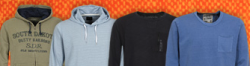 Hoodies & Sweats reduziert – über 500 Modelle ab 10€ bei 4clever.de