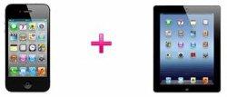 iPhone 4S + das neue iPad für 99 € im Special Complete Mobil XL-Tarif @T-Mobile