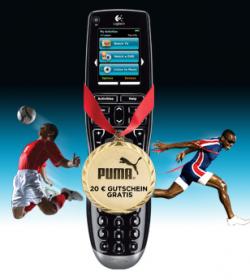 Logitech Harmony One Plus bei Amazon kaufen und 20€ Puma Gutschein bekommen