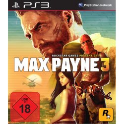 Max Payne 3 für PS3 / Xbox nur 29,99€ + 5€ USK Versand @ Amazon!