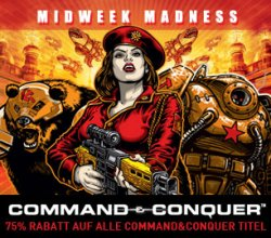 Midweek Madness @Steam: 75% auf Command & Conquer Spiele!!!