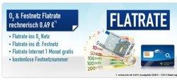 o2-Flat + Festnetz-Flat + Homezone + 1 Monat Internet für nur 49 Cent pro Monat