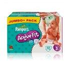 Pampers Active Fit Jumbo-Packung für 18,99 bei baby-markt.de