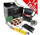 Hi-Tec Reparaturset 14tlg. mit Satteltasche für nut 5,99€ inkl. Versand @Q-des-Tages Nr.2