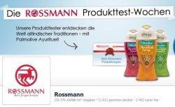 Rossmann Kostenlose Probeartikel auf der Rossmann Facebook-Seite