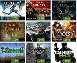 Steam Summer Sale 2012 bis zum 23.07.2012 viele Top Downloads zu Schäppchen Preisen!!!