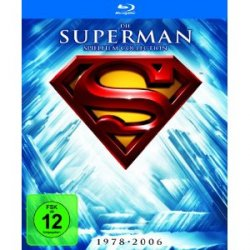 Superman – Die Spielfilm Collection 1978-2006 auf BluRay für 20,97€ bei amazon