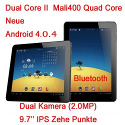 Yuandao N90 II Tablet-PC mit Android 4.0.4 und 1.6 Ghz DualCore für nur 175.99 € @tabletpc-handyshop.com