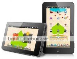 Transcend Tablet mit 7 Zoll Touch-Screen (1GHz, Wifi) für nur 59,49 Euro