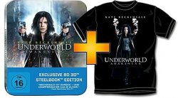 Underworld Awaking Blu-ray(3D) mit T-Shirt in Steelbox für 19,99 € bei Saturn
