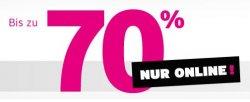 Karstadt WOW Sale mit bis zu 70% Rabatt in allen Kategorien, auch Technik!