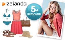 Zalando Shopping-Gutschein im Wert von 5,- Euro!