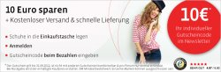 10 EUR Gutschein für mirapodo.de – Schuhe online kaufen!
