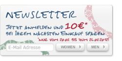 10€ C&A Gutschein für  Newsletteranmeldung