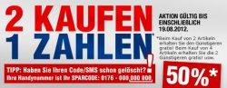 2 Artikel kaufen, 1 bezahlen… bis zu 50% bei SC24.de