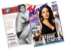 2 Ausgaben Playboy, TV-Spielfilm, cinema, focus kostenlos über vox-Videotext (keine Kündigung notwendig!)