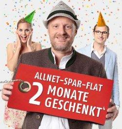 2 Monate AllNet-Flat geschenkt – nur bis 30.9 @klarmobil.de