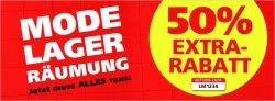50% Extra-Rabatt auf Mode Lagerräumung @Neckermann.de!