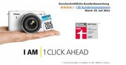 50€ Cash-Back beim Kauf eines Nikon One Modells @ amazon