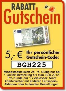 5,- Euro Rabatt-Gutschein für baldur-garten.de