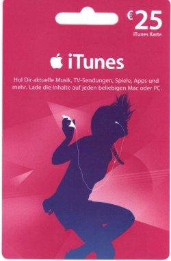 Aktion: 5€ Rabatt auf 25€ AppStore- und iTunes-Karten bei Gamestop
