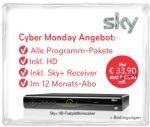 Sky Komplett inkl. HD für 19,90 EUR über vente-privee ab 12. November