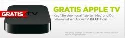 Appel TV gratis beim Kauf eines MacBook Air, MacBook Pro, iMac oder Mac Pro bei mactrade