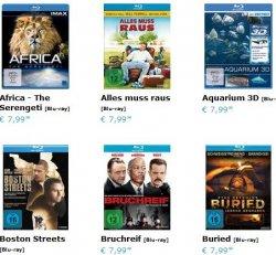 Blu-Ray Sparpaket: 5 Blu-Rays nur 29,50 € mit Gutscheincode @baitoo