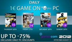 "[PC-Download] Daily 1€ GAME ON @Ubisoft, Heute: ""From Dust"", Sonntag: Driver San Francisco – Deluxe Edition (PC) für 1€"