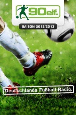 Endlich wieder 90elf Fussball Bundesliga Live App, kostenlos für das iPhone / iPad (iOS)