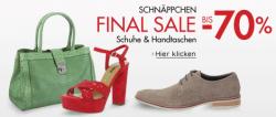 Final Sale bei Amazon: Schuhe & Handtaschen bis 70% Rabatt