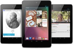 Galaxy Nexus 7 in Googlestore jetzt erhältlich