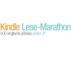Kindle Lese-Marathon bei Amazon: 500 englische eBooks unter 2€