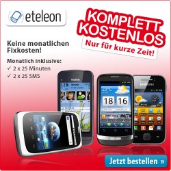Komplett kostenlos bei etelon: Smartphone, Apple TV(3. Generation), Surfbox Go oder Blu-ray Player