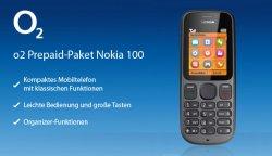 Nokia 100 Handy für 7,99€ mit 5€ Guthaben o2o @deltatecc
