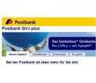 Postbank: Girokonto eröffnen und 100 Euro Startguthaben sichern – bis 31.12.2012