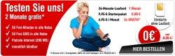 Testaktion bei Handybude: 2 Monate kostenlos 50 Minuten / 50 SMS / Internet frei / keine Vertragslaufzeit!