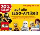 """Toys""""R""""Us: 20% Rabatt auf Lego-Artikel + 10% Neukundenrabatt"""
