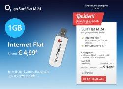 UMTS-Flatrates mit 1GB, 5GB und 7,5GB ab 4,99 Euro pro Monat @ sparhandy