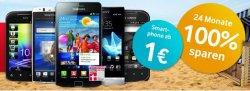 Vodafone SuperFlat Internet Spezial komplett kostenlos mit vergünstigtem Smartphone