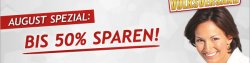Volksversand Apotheken August Spezial: 50% Rabatt auf Paracetomol, Aspirin & Co.