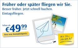 WIEDER DA: Condor Eintagsfliegen – zahlreiche Flüge ab 49,99 € buchen!
