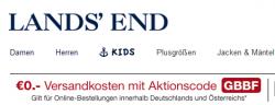 10€ Gutschein mit nur 10,01€ Mindestbestellwert bei Lands End + kostenlosen Versand