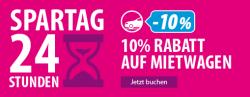 Spartage auf ebookers.ch: 124 Euro Rabatt auf Pauschalreisen, 10% auf Hotels