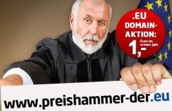 1€ im ersten Jahr für eine eu-domain bei united-domains.de