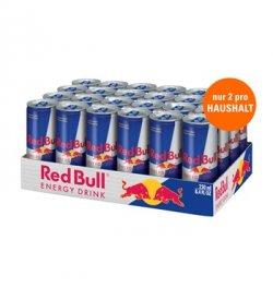 24 Dosen Red Bull für 21,99 € + 6 € Pfand + VSK @ Allyouneed.com