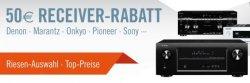 50 Euro Rabatt auf 5.1 bis 9.2  AV-Receiver für perfekten Raumklang @cyberport.de