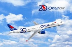 50% Rabatt auf Inlandsflüge von Onur Air
